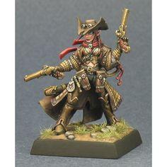 Lirianne, Half Elf Gunslinger