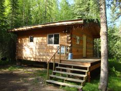 PRIVATE 'ALASKAN' CABIN - Nicely built log dry cabin, built in 2004.  Toyo and woodstove heat.  Outhouse.  Convenient location.  Furniture at cabin (chairs and bookshelves) convey with sale.  Rented for $500/month in recent past.  Electric currently turned off.  Property in excellent condition in private setting.  Seller will owner finance with 10% with 15 year term.  $65,000.  MLS # 123039 Contact Judy Somers @ Somers & Associates, Realtors at (907) 388-7654 for further details.