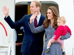 THE FINAL GOODBYE photo | Kate Middleton, Prince George, Prince William