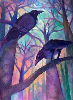 Ravens on Reconnaissance