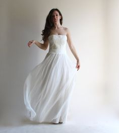 Wedding skirt wedding separates wedding dress boho by LoreTree