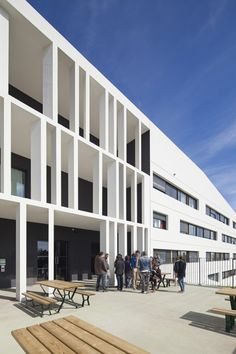 Academy Of Art Crafts (ESMA) | LCR Architectes