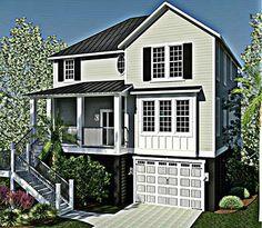 Dargan Street   Coastal Home Plans (2,110 Heated Sf, 3bd/2.5ba)