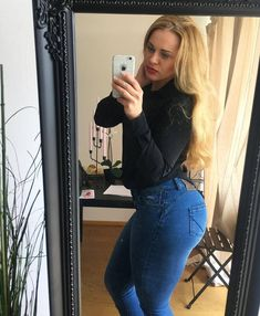Jeans for #girls who #lift www.aesparel.com  #bodybuilding #gym #ripped #shredded #dowork #workout #fashion #denim #jeans #ahtletes #athleticjeans Bodybuilder, Denim Jeans, Mom Jeans, Athletes, Fitness, Gym, Workout, Girls, Gowns
