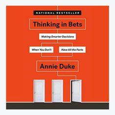 Sijoittajalle hyvä kirja vaikkei ole sijoitus- eikä pokerikirja. Jo pelkkä nimi on muuttanut mun ajattelua.