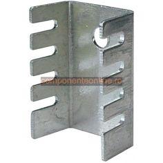 Radiator aluminiu, 21x14x9 mm, pentru capsule TO202, TO220 - 131300
