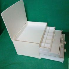 Купить Мини-комод шкатулка Кубик - белый, мини-комод, мини-комодик, миникомодик, шкатулка