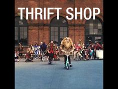 """""""Thrift Shop"""" - Macklemore with Wanz.  This wacky hip hop has an infectious groove reminscent of the Beastie Boys' """"Brass Monkey"""" - """"I'm gonna pop some tags, only got 20 dollars in my pocket."""""""
