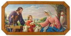 Die heilige Familie St Joseph, Sculpture, Painting, Art, Holy Family, Middle Ages, Saint Joseph, Art Background, Painting Art