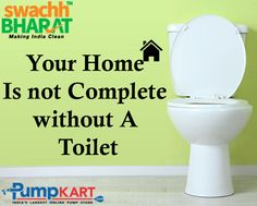 Home #toilet is a great way to save the dignity of woman. So #India wake up and join ‪#Swachh‬ ‪#Bharat‬ ‪#Abhiyan