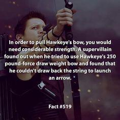 Hawkeye is awesome