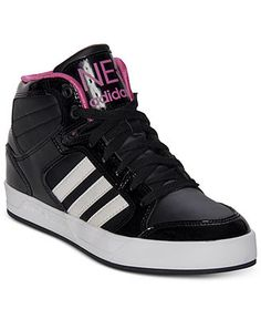 adidas Women s BBNEO Raleigh Mid Casual Sneakers from Finish Line - Kids  Finish Line Athletic Shoes 8395eeb86f