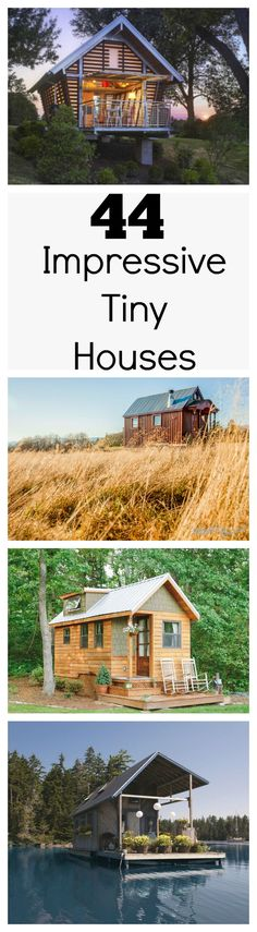 #tumbleweed #tinyhouses #tinyhome #tinyhouseplans Tiny houses are popping up around the country as more people decide to downsize their lives. However, owning a tiny house doesn't necessarily mean making sacrifices, and these amazing tiny houses are proof.