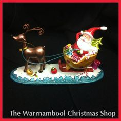 That wasn't an earthquake in Warrnambool the other day it was Santa falling out of his sleigh on his way to the Warrnambool Christmas Shop! You never know who you will spot here!#warrnambool3280 #warrnamboolchristmasshop #warrnambool #shop3280 #oddball #reindeer by warrnambool_christmas_shop