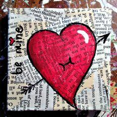 ideas love art diy canvas mixed media for 2019 Canvas Art Projects, Summer Art Projects, Art Projects For Teens, Easy Art Projects, Mini Canvas Art, Diy Canvas, Canvas Ideas, Pop Art Lips, Sunflower Art