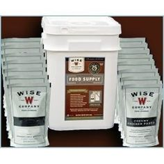 Emergency Survival Food Wise 60 Serving Entree Freeze Dried Food Supply