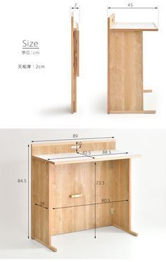 Gambaru Kaguya Tansu no Gen: Closed when not in use, the compact domestic learning desk compact folding bookcase simple computer desk folding desk flat slim desk learning learning desk study desk desk kids girls boys made in Japan completed Folding Furniture, Folding Desk, Smart Furniture, Types Of Furniture, Space Saving Furniture, Furniture Logo, Home Furniture, Furniture Ideas, Office Furniture