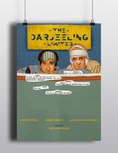 """Poster for """"The Darjeeling limited"""" by Angie Shiian, via Behance"""