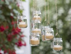 How to Make a Glass Jar Chandelier