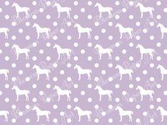 Violet Horses and Spots - Digital Paper - Scrapbook - Scrabooking - Printables - Clipart - 12x12 inches - Blossom Paper Art