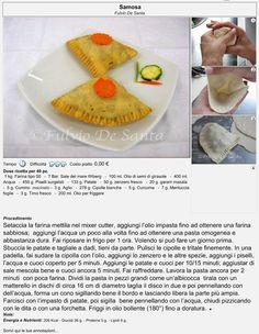 Ricetta vegetariana: SAMOSA http://fulviodesanta.altervista.org/indiana/articoli/indiana#samosa