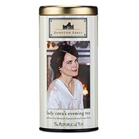 This caffeine-free blend of chamomile and lemon balm will calm the mind and body. Relaxing botanicals create a cup of tranquility that helps ease the nerves. Nice before bedtime when a soothing cup is a welcome friend.   http://www.republicoftea.com/downton-abbey%2526%2523174%253b-lady-cora%2527s-evening-tea/p/V20241/