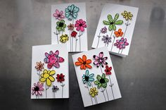 As a mother I love when Ela is involved as much as possible in any crafts , therefore the idea for the cards was very simple and easy yet stylish at the same ti…