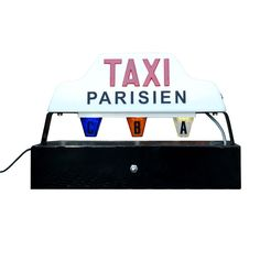 Fab.com | Paris Taxi Lamp - awesome lamp and they have NYC too...