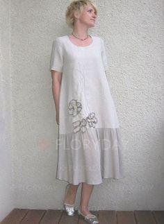 Plus Size Color Block Short Sleeve Maxi Shift Dress - White Gold Plus Size Dresses, Plus Size Black Dresses, Plus Dresses, Linen Dresses, Casual Dresses, Fashion Dresses, Short Sleeve Dresses, Summer Dresses, Plus Size Outfits