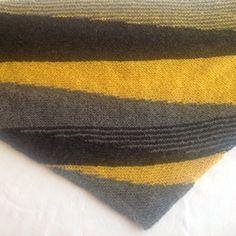 Pointe tricotée / garnstudio