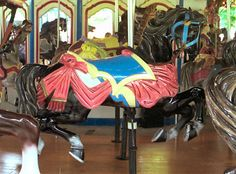 The National Carousel Association promotes conservation,appreciation,knowledge,and enjoyment of carousels and the preservation of complete wooden carousels Sea Isle City, Wooden Horse, Painted Pony, Merry Go Round, Victorian Furniture, Carousels, Carousel Horses, Equine Art, Leopards