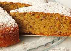 Ricetta: Torta di Mandorle e Carote (seconda versione) Cake Vegan, Cooking Recipes, Healthy Recipes, Italian Cooking, Banana Bread, Bakery, Deserts, Food And Drink, Sweets