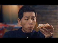 161118 송중기 박보검 Song Joong Ki Park Bo Gum Domino's Pizza CF 宋仲基 朴宝剑