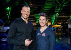 Aksel Lund Svindal and Marcel Hirscher (Alpine Skiing) Alpine Skiing, Hey Good Lookin, Lund, Athletes, Olympics, Gentleman, Football, Stars, Hot