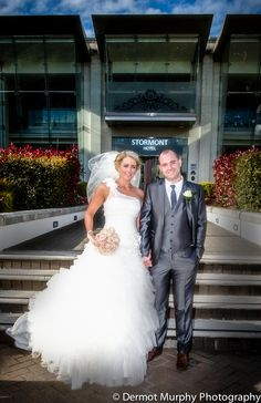 Wedding at the Stormont Hotel. With photography by Dermott Murphy