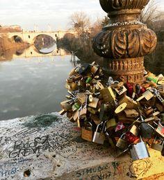 Ponte milvio. Roma.