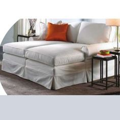 Nantucket Slipcovered Chaise $1336.80