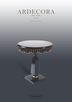 Side table- Monzer Hammoud - Pont des Arts Studio - Paris