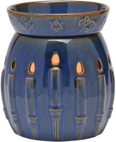 Channukah flameless candle fragrance warmers.80 fragrances to choose from/$35.00