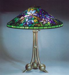 Lamp- [ Clematis table lamp ] 1a image  #  21
