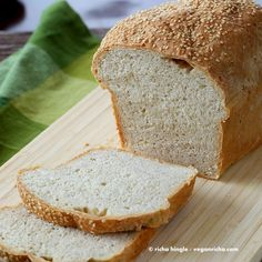White Bean Sandwich Bread Loaf. Vegan Recipe - Vegan Richa