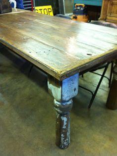 Oklahoma Barn Market: Handmade Table from Reclaimed Wood