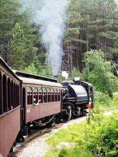 1880 Train, Keystone South Dakota...a great ride! this was so much fun!!
