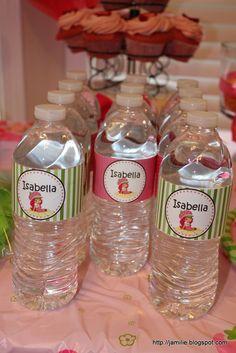 Water Bottle Labels  https://www.etsy.com/listing/122728035/printable-strawberry-shortcake-water