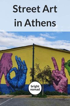 Street Art in Athens, Greece - Beautiful Murals with a Message Europe Travel Guide, Travel Guides, Backpacking Europe, Travel Advice, Greece Itinerary, Greece Travel, Athens Greece, Mykonos Greece, Crete Greece