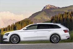 Die Basis des Skoda Superb Combi ist der modulare Querbaukasten vom VW-Konzern