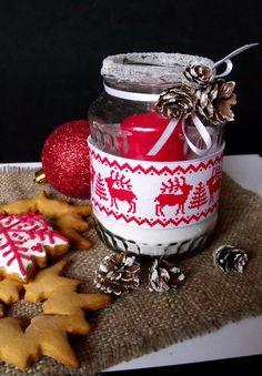 Citromhab: Karácsonyi mécsesek befőttesüvegben
