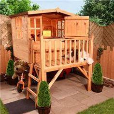 Garden House from UK-sort of loft/treehouse feel
