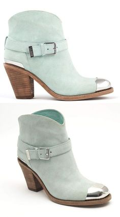 Mint Ankle Boots 3