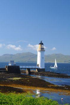 Rubha nan Gall Lighthouse · Isle of Mull by Bruce Fyfe on 500px